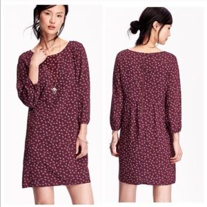 Old Navy Getting Figgy Lightweight Thin Long Sleeve Mini Dress Size Large